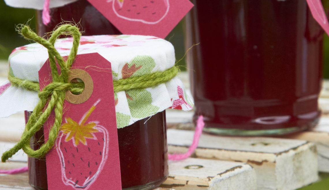 Ein Klassiker: Erdbeerkonfitüre