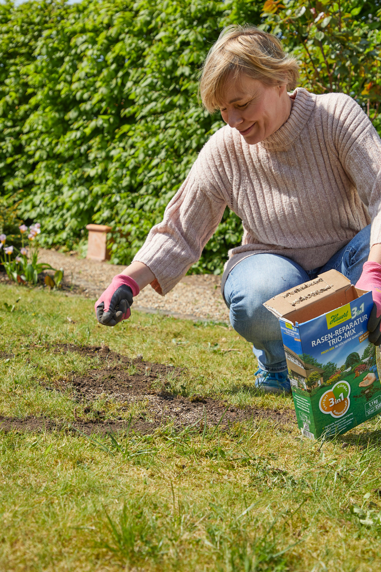 Frühjahrskur für den Rasen
