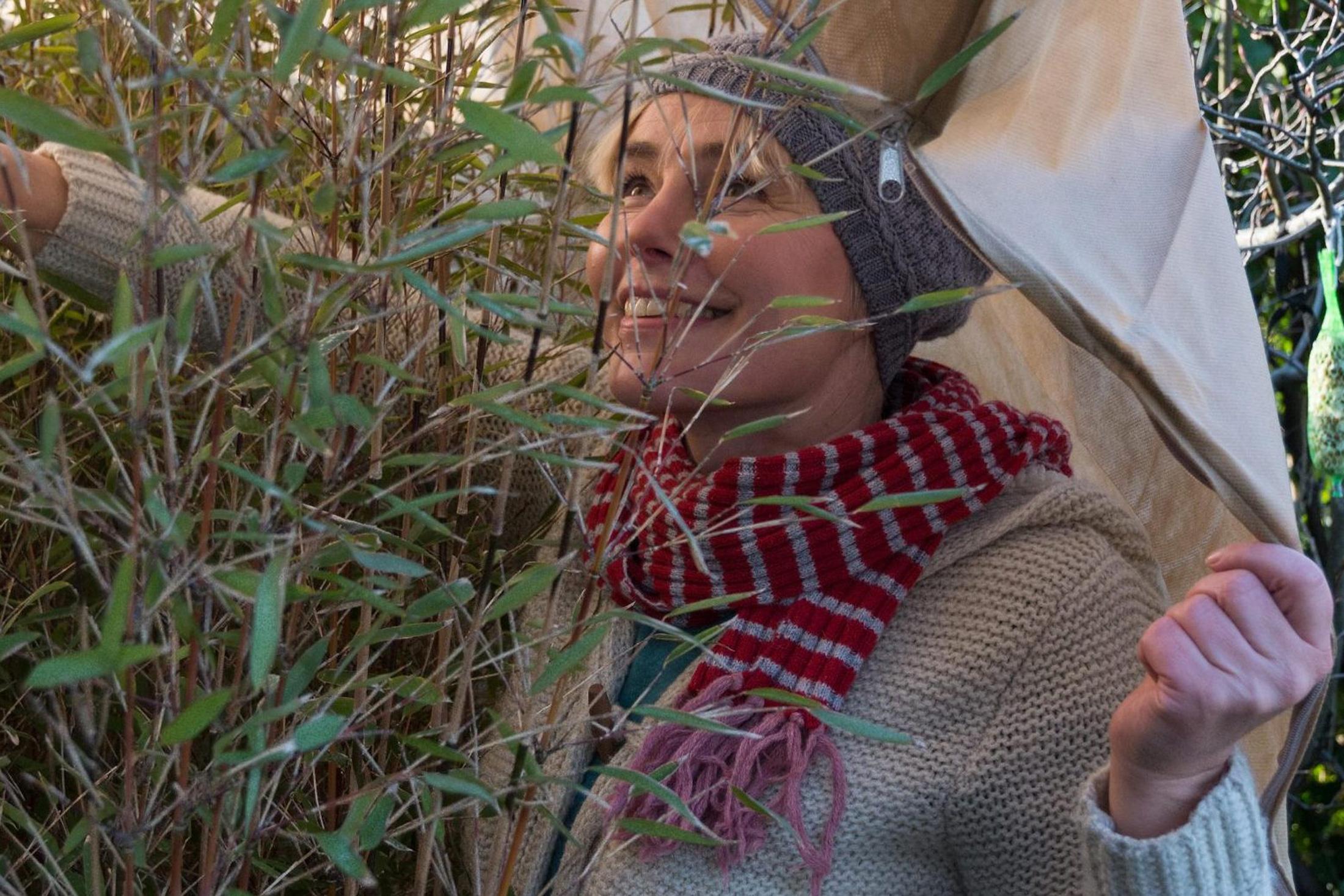 XXL-Wintermantel für den Bambus