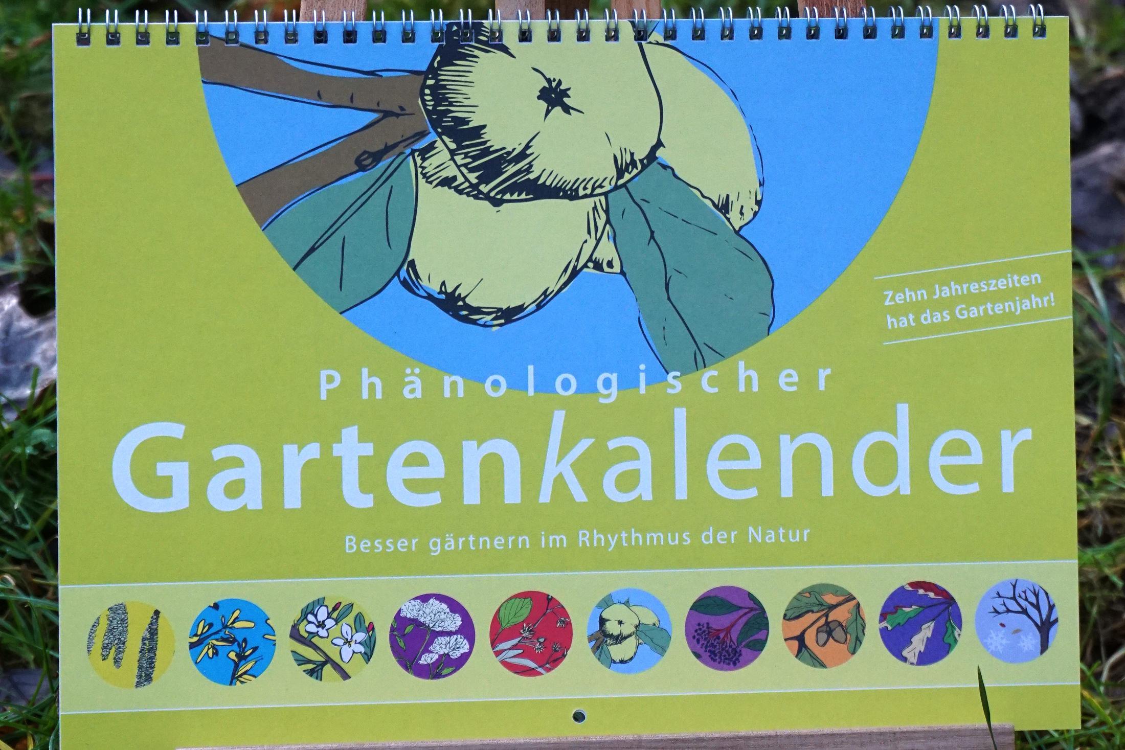 Neu: Unser Phänologischer Gartenkalender ist da